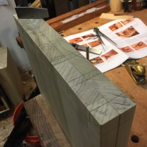 Dovetail lay out.