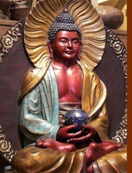 Amithaba Buddha Bronze