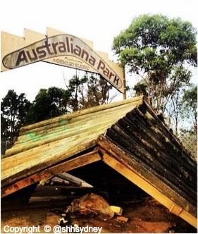 Australiana Park Zoo random rubble