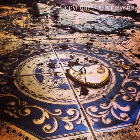 Spanish style still in the tiles