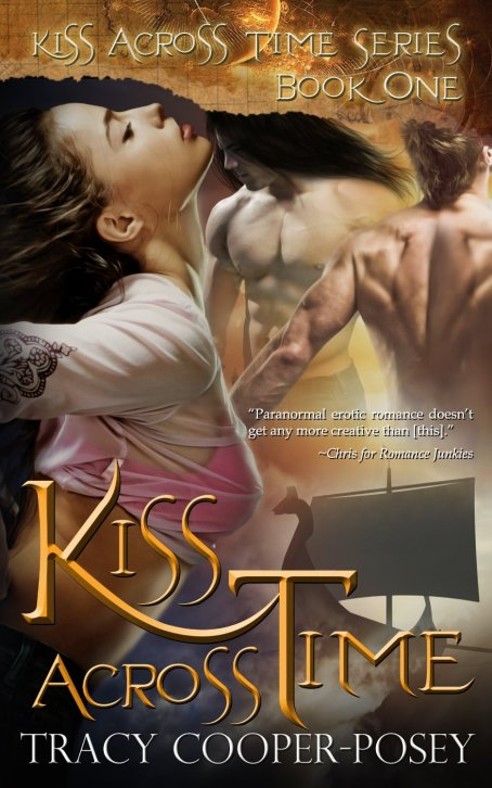 Free Historical Romance Ebooks: Kiss Across Time by Tracy Cooper-Posey available free for limited time on Nook and Kindle