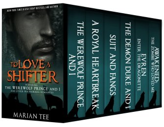 99¢ Ebook Deals: To Love a Shifter 6 Book Boxed Set by Marian Tee available for only 99¢ on Nook and Kindle