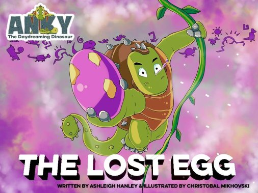 The Lost Egg by Ashleigh Hanley available on Kindle for $2.99