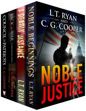 Noble Justice Box Set by LT Ryan and CG Cooper available free for limited time on Nook and Kindle