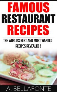Restuarant Recipes available free for limited time on Kindle