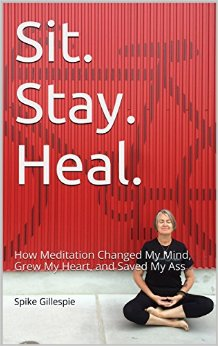 Sit Stay Heal by Spike Gillespie available free for limited time on Kindle