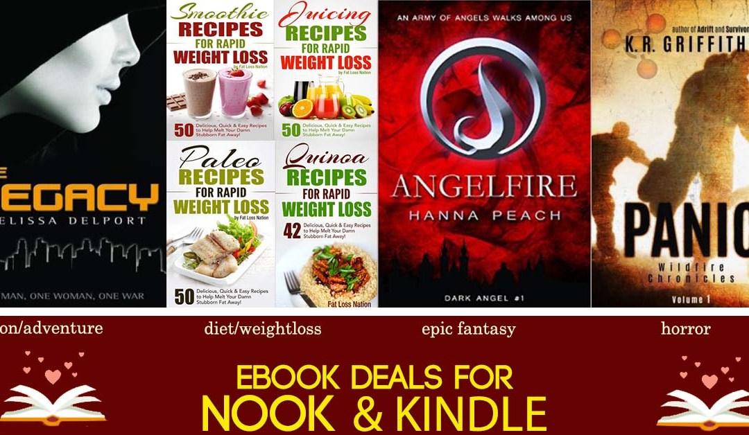 6/27 Afternoon Block of Free eBook Deals