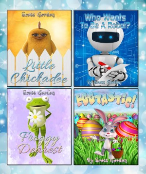 Four Fantastic Surprise Ending Childrens books available free for limited time on Kindle
