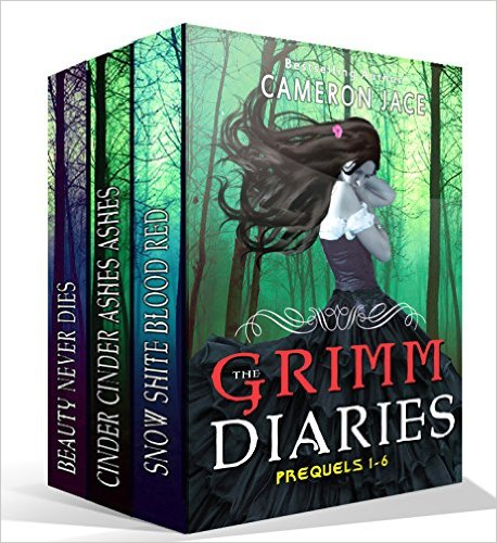 Grim Diaries Prequels vol 1-6 by  Cameron Jace available free for limited time on Nook and Kindle