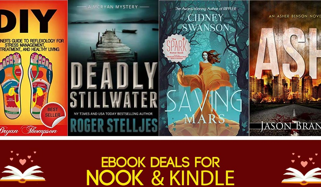 7/27 Evening Block of Book Deals for Monday