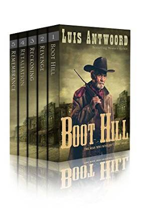 Boot Hill 5 Book Bundle by Luis Antwood available free for limited time on Kindle