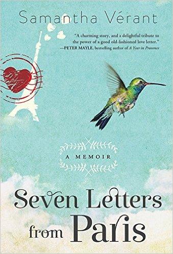 Seven Letters from Paris by Samantha Verant available for $1.99 on Nook and KIndle for limited time