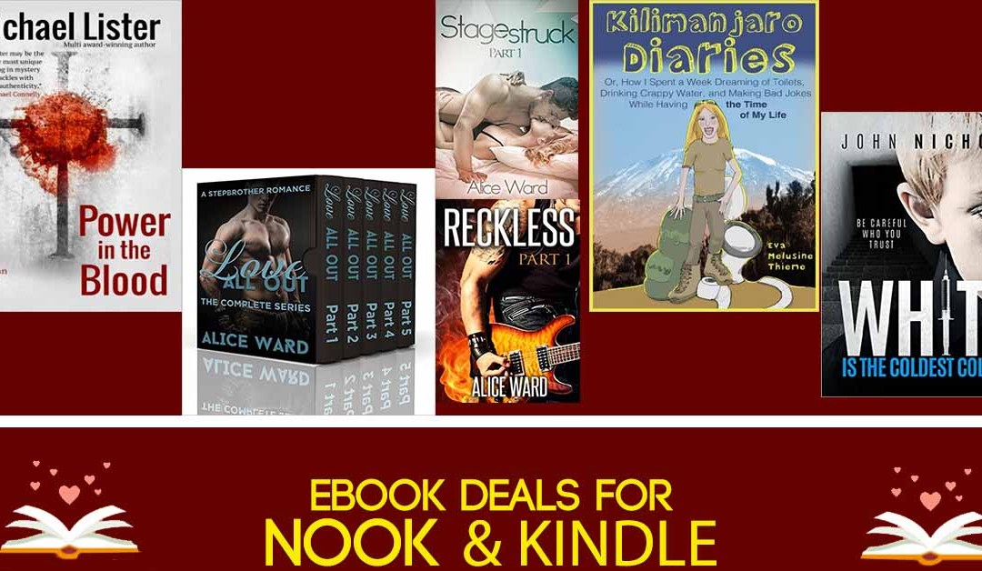 8/2 Afternoon Block of Nook & Kindle eBook Deals