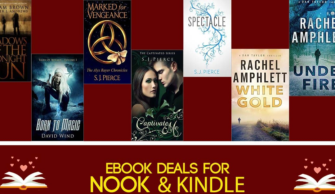 8/6 Evening Block of Free & Bargain eBook Deals