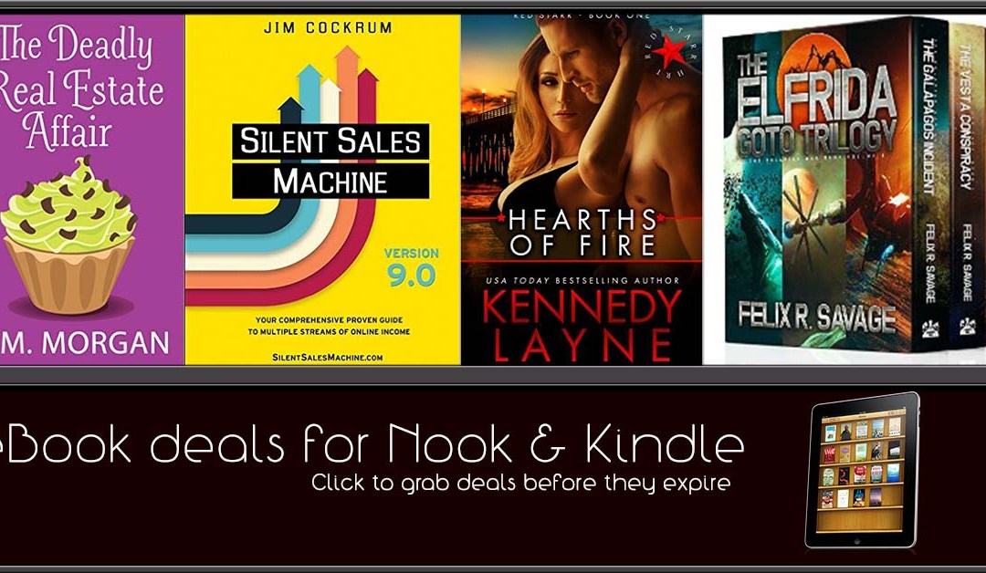 10/25 Afternoon Block of eBook Deals