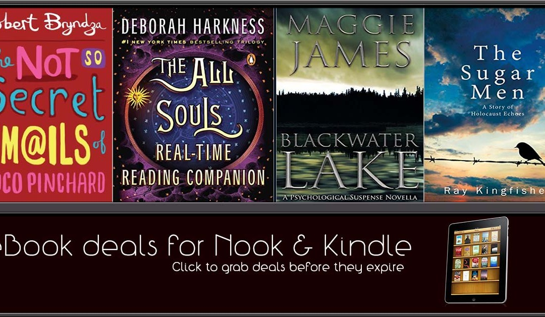 11/3 Afternoon Block of eBook Deals