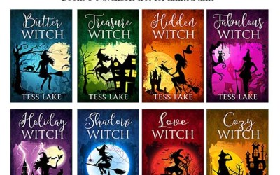 Free Kindle Deal: Torrent Witches Cozy Mysteries Books 1-5 by Tess Lake