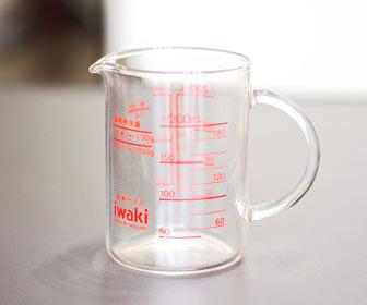 デザインとコスパの良い計量カップ。iwaki製を買ってみた!!