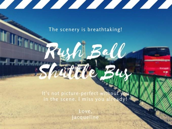 ラッシュボール バス乗り場,ラッシュボール バス乗り場,ラッシュボール  バス チケット