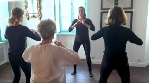 photo atelier collectif de pratique du Qi Gong