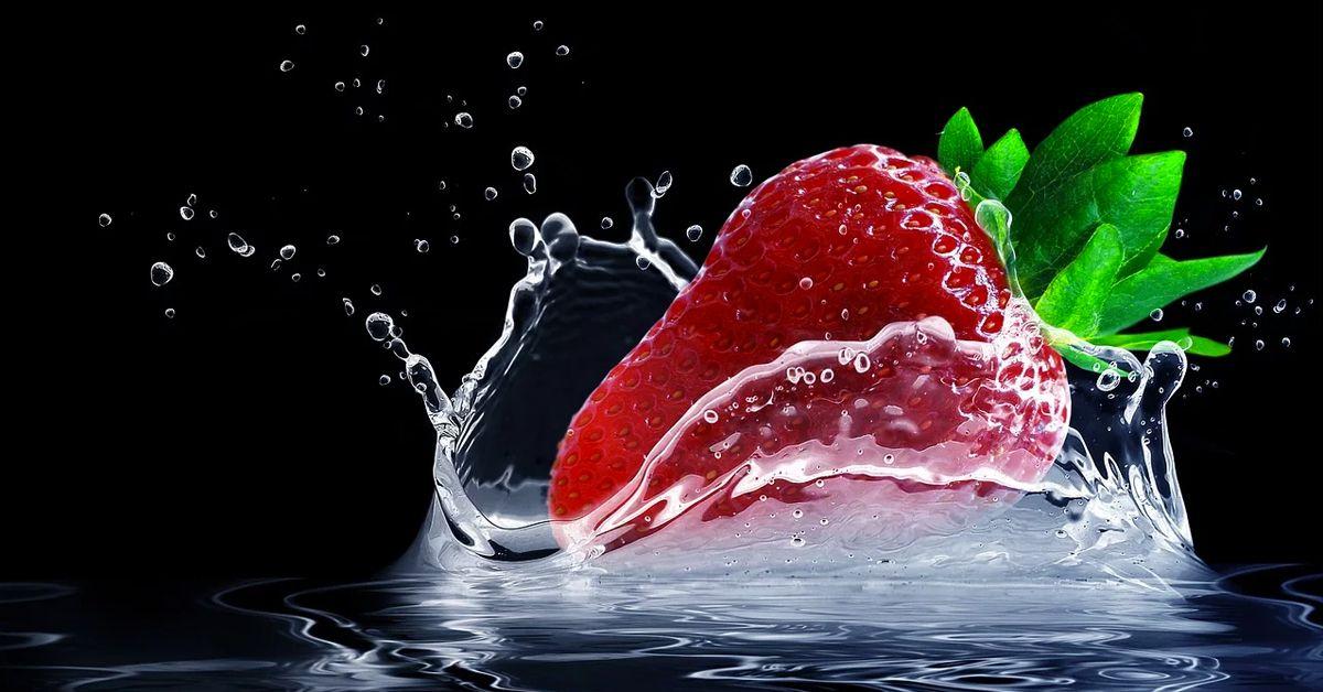 Fresas Sanas y Depurativas.