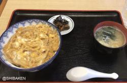 [笹塚情報]由緒正しき昭和のおそば屋さん「三貴屋」で玉子丼