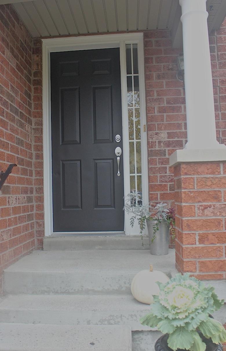 At Home: Garage & Front Door Paint Makeover on Garage Door Painting Ideas  id=79001