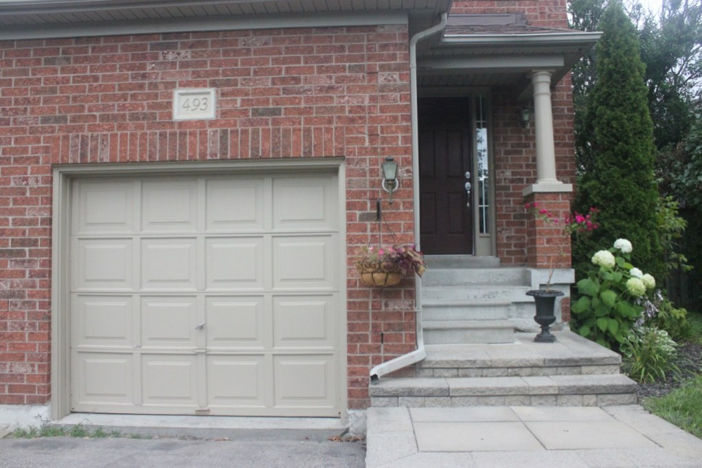 At Home: Garage & Front Door Paint Makeover on Garage Door Painting Ideas  id=11994