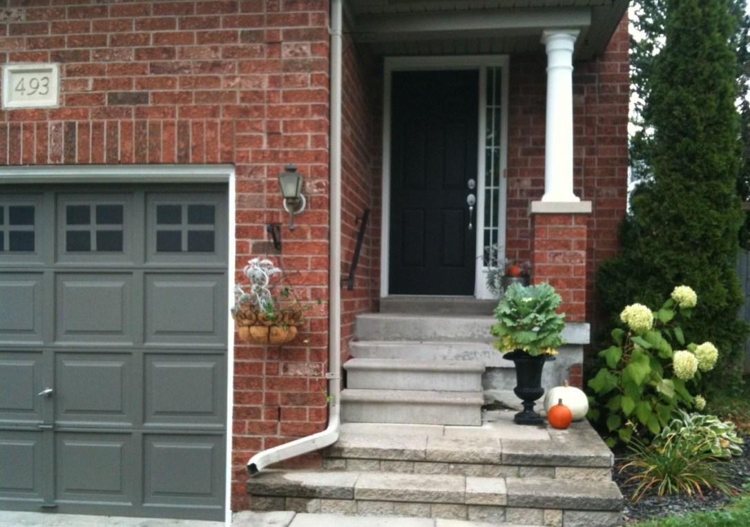 At Home: Garage & Front Door Paint Makeover on Garage Door Painting Ideas  id=83584