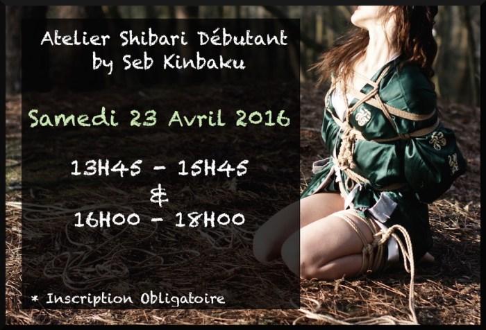 cours de shibari paris, atelier shibari paris