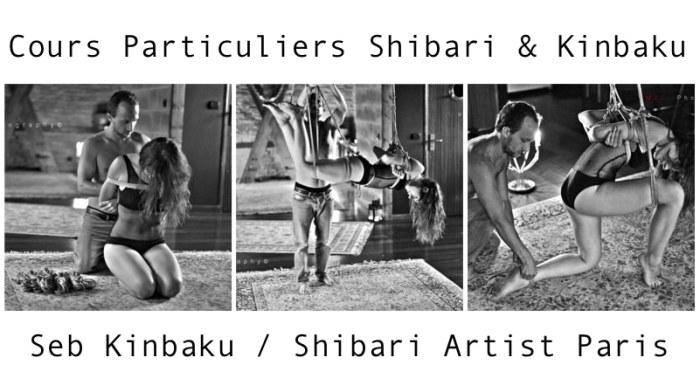 seb kinbaku, shibari instructor paris