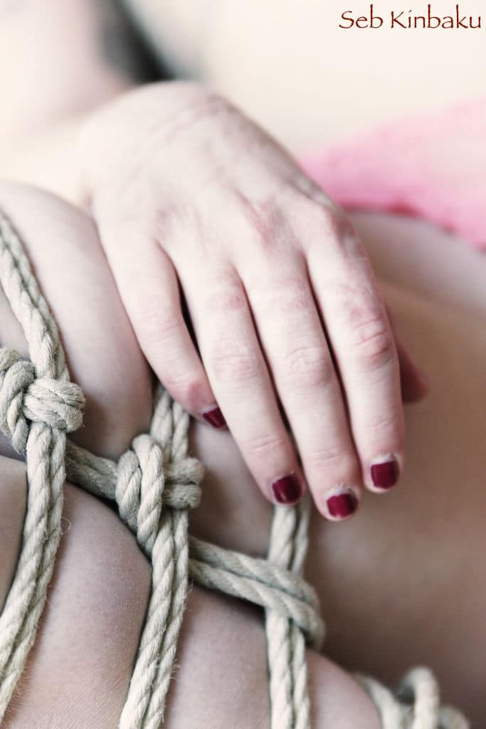 Session Shibari Apoline / Seb Kinbaku Paris