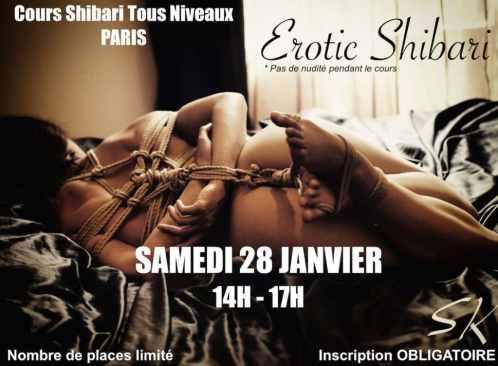 cours shibari paris janvier 2017