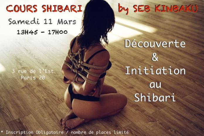 cours shibari paris mars 2017