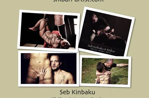 Shibari Artist Paris / Seb Kinbaku