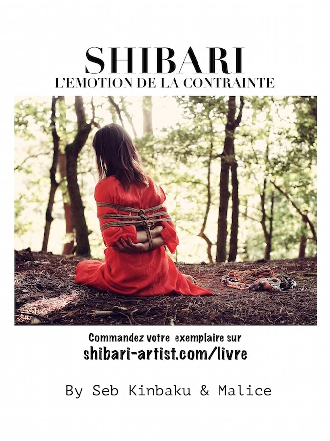 Livre Shibari / l'Emotion de la Contrainte