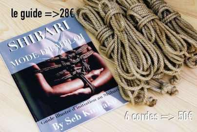 livre shibari + corde shibari