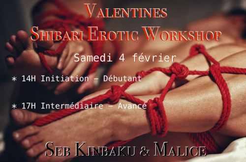 Shibari Erotic Workshop