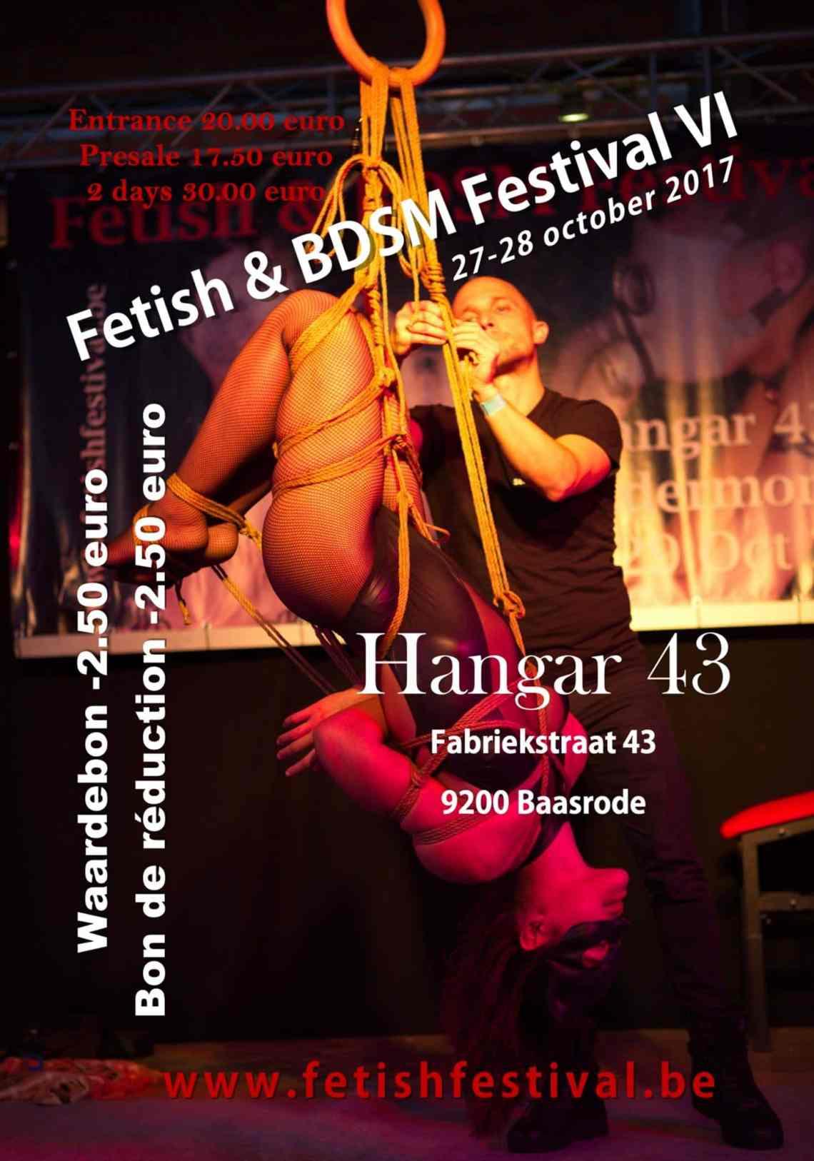 shibari kinbaku fetish festival 2017