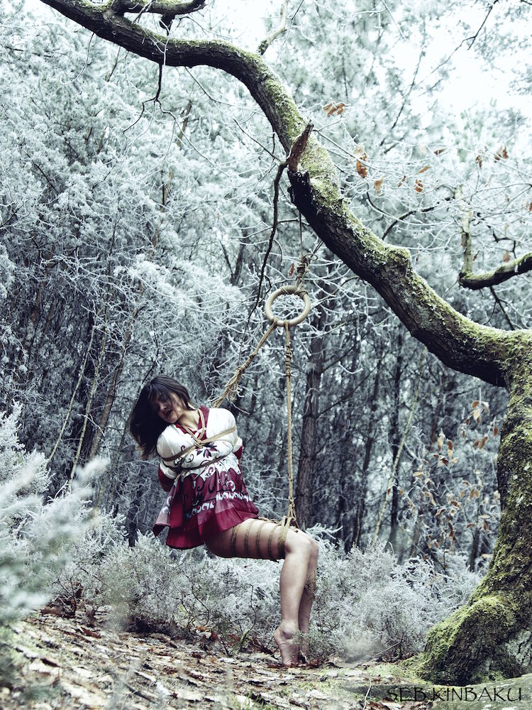 Photo shibari by Seb Kinbaku