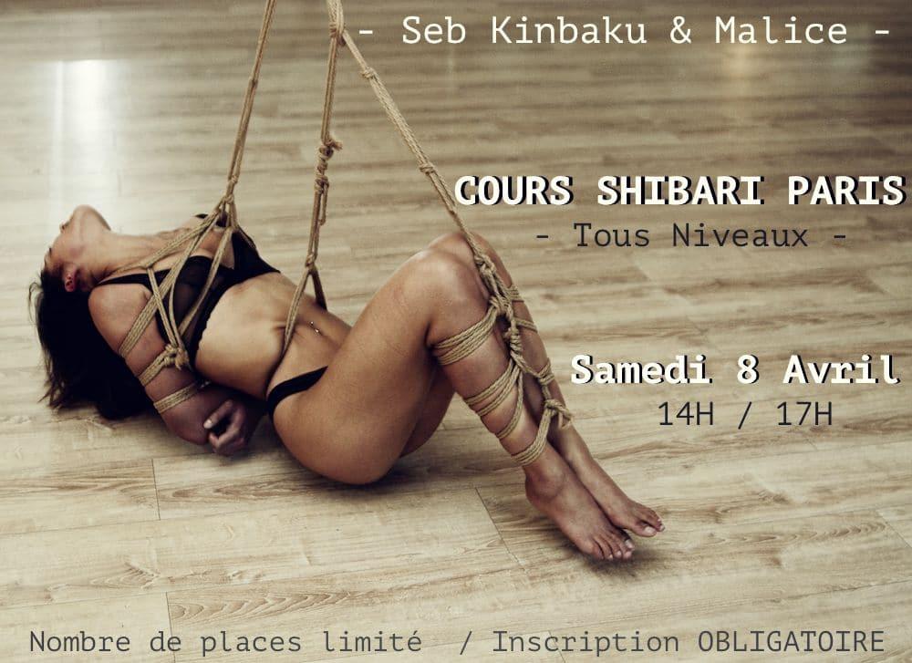 shibari kinbaku cours paris