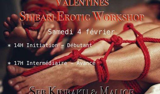 Erotic shibari Worshop Belgium 2017