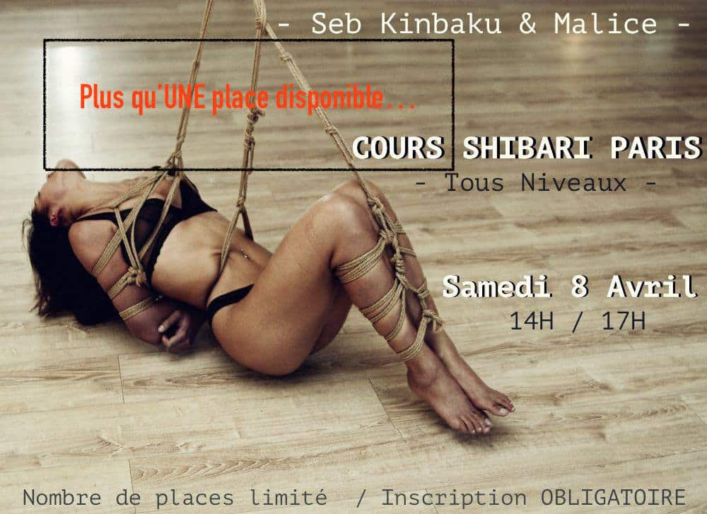 cours shibari avril 2017 by seb kinbaku