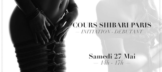 Initiation au shibari / kinbaku sur Paris