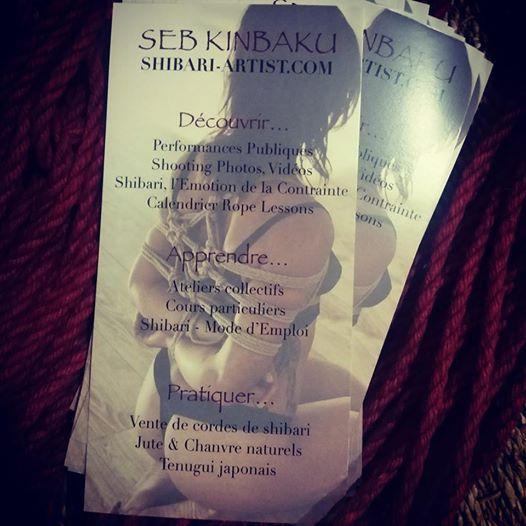 shibari paris : Kinbaku paris