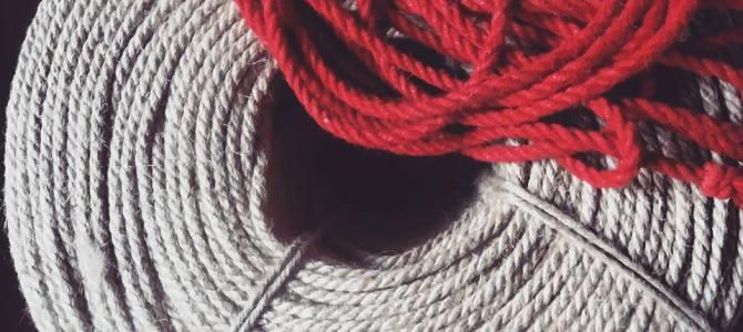 Cordes de shibari en jute disponible prochainement