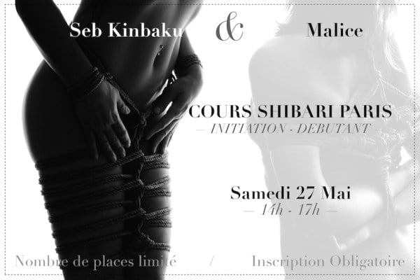 cours shibari paris 27 mai 2017