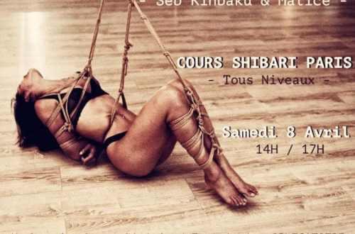 cours shibari paris avril 2017