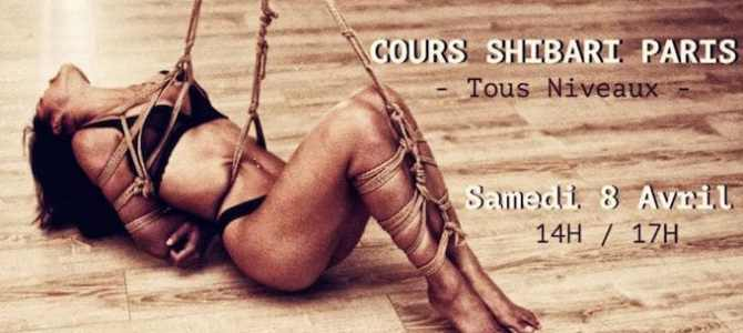 Shibari : Cours collectif avril 2017