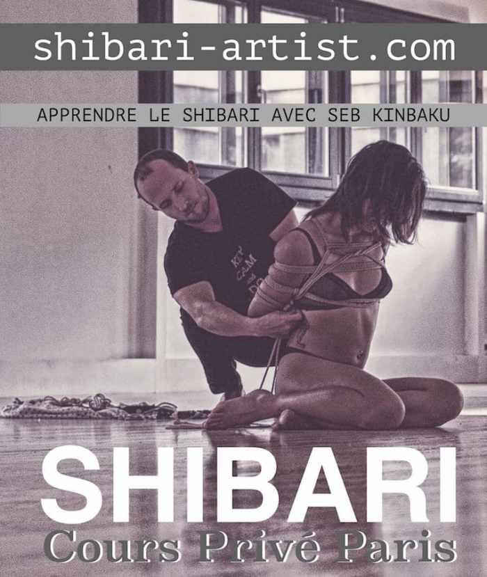 Cours privé shibari by seb kinbaku